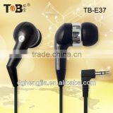 2014 new China factory manufacturer cell phone laptop Tablet PC free samples hot cheap black plastic in-ear earphones earbuds