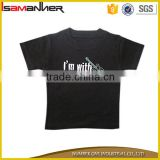 OEM service baby boys eco-friendly o-neck short sleeve printed baby t-shirt Image