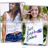 new custom summer fashion loose plain crop tops wholesale women tank top                                                                         Quality Choice                                                     Most Popular