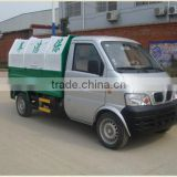 Dongfeng mini garbage container truck