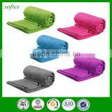 Wholesale suede Fast Drying Compact Absorbent Sport Bath Outdoor Gym travel towel micro fiber