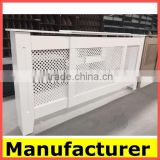 hot sale French paint spraying Radiator Cover Cabinets /white Painting Mdf Radiator Cover