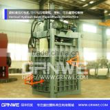 used clothes textile compress baling machine