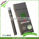 New product 2016 Ocitytimes O1 refill oil vapor cartridge co2 oil pen no cotton dispsoable cbd thc oil vape pen