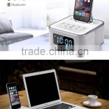 S1 Pro iphone6 plus / 5 s / 5 mobile phone charging speakers with alarm clock for Apple                                                                         Quality Choice