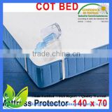 2016 amazon best selling waterproof baby cot mattress protector