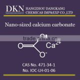 High Quality Nano-sized Calcium carbonate CAS NO.471-34-1
