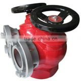 Factory price double-valve and double-outlet pressure reducing indoor fire hydrant for fire extinguishing ,fire fighting
