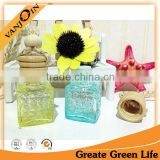 20ml Crystal Glass Car Air Freshener Jar With Wooden Lids