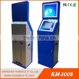 Touchscreen Automatic Checkout Kiosk with Payment Credit Card / Credit Card Payment Kiosk