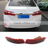 LED Tail Light Warning Brake Lamp Car Rear Bumper Light For Toyota Corolla 2014 2015 2016                                                                         Quality Choice