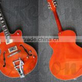hollowbody jazz electric guitar in nice colour