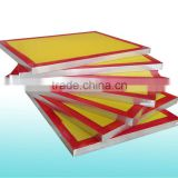 Stretching screen printing mesh service,silk screen printing mesh tension by Kiwo adhesive