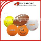 Promotional Printed Smiley Face PU Foam Stress Ball                                                                                                         Supplier's Choice