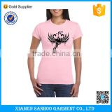 High Quality 100% Organic Cotton Bulk Ladies T-Shirt Custom Printing Various Sizes And Colors