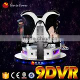Interactive Home Cinema System Full HD Virtual Reality Electric 1/3 Seat 360 Degree 9d Egg Vr