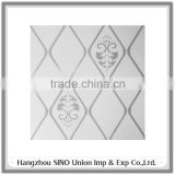 modern art design interior decorative roof material lightweight ceiling panel with stripe