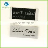 Fabric Woven Printed Clothing Label, 100% Polyester Satin Nylon Garment Care Label, Woven Garment Label