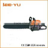 High quality 5200 gasoline Chain saw 52cc with easy start 18'' 20'' guide bar chain saw spare parts china oem manufacturer