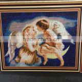 Angel Baby boy and girl 40x50cm full drill 3D diamond cross stitch handwork painting                                                                         Quality Choice