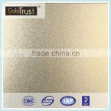 China Supplier Excellent Quality Decorative Bead Blasted Ti-Brass Finish Stainless Steel sheet for Elevator and Decoration