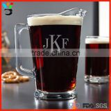 Fabulous Party Favors Drinkingware 1.1L - 2L Size Classic Personalized Glass Beer Pitcher