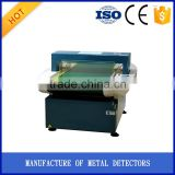 China leading factory supply cloth conveyor belt type metal needle detector
