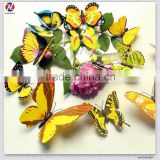 3D butterfly shape creative removable Home decoration wall tile stickers