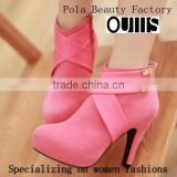 popular design shoes pola beauty factory boots 2015 CP6148
