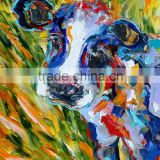 Hot sale! Newest design popular modern animal oil paintings on canvas manufacturer price