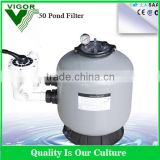 1.0MPa pressure high flow sand filter for waste water with pump sand blasting air filter