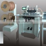 High performance double coil binding machine for books/ calenders with hanger inserting functions