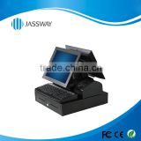 Prommotion capacitive touch screen POS system with high quality cash redister for retails