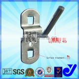 JY-707|Anti-rush display hook|Electroplating hardware tools hooks|Industrial square hole hanger for tools