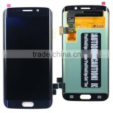 Factory Outlet Lcd Screen For Samsung S6 Edge, LCD Digitizer Touch For Samsung S6 Edge,Mobile Phone Complete LCD for samsung S6