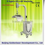 2013 Hot Selling Multi-Functional Beauty Clinic Equipment E-light+IPL+RF Machine Fat Broken Slim Pain Free