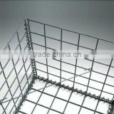 best quality welded mesh gabion baskets/round welded gabion box with availiable price for sale (ISO9001:2008)