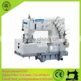 4 Needle Double Chain Stitch Sewing Machinery/Flat Bed Multi Needle Industrial Sewing Machine Price CS-1405