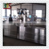 Automatic thermoforming vacuum packing machinery with automatic marking system