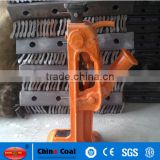 steel rail jack machine for railway