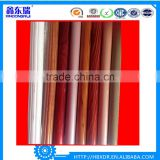 6063 T5 aluminium wood grain finish/wood colour aluminium profile for curtain wall/window&door frame /furniture/handrail