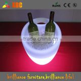 Small size round led lighted ice bucket