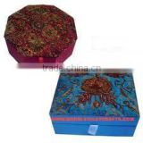 Zari Hand Embroidery Jewellery Boxes