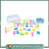 Preschool magic sand for kid with model making tools