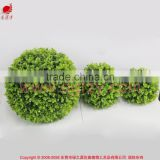 Artificial boxwood topiary decorative grass ball for garden