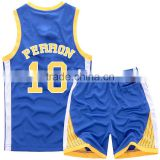 2016 team sports wear custom basketball uniform set / basketball jerseys / basketball shorts