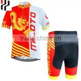 Accept sample order coolmax wholesale cycling jersey,cheap china cycling clothing,custom cycling wear with good price