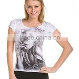 Marilyn Monroe T-Shirt Sexy-Necklace Stone