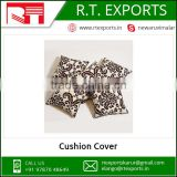 Custom Size Decorative Printed Cushion Cover Manufacturer India