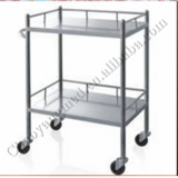 CY-D402 high quality stainless steel medical dressing trolley
